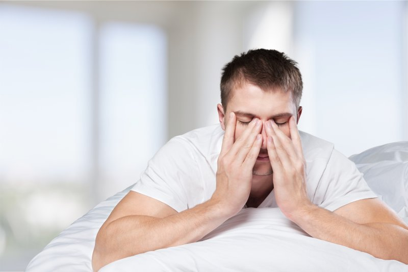 Sleep apnea depression